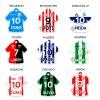 chapitas para perros mascotas clubes de fútbol argentino