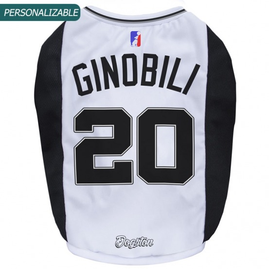 Musculosa para perros basket Spurs