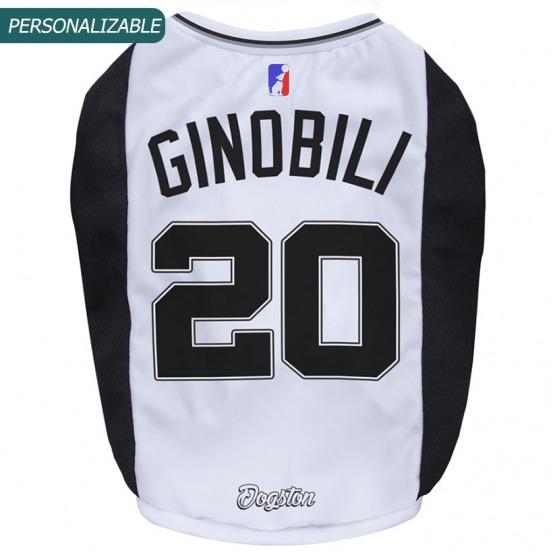 Musculosa para perros basket Spurs