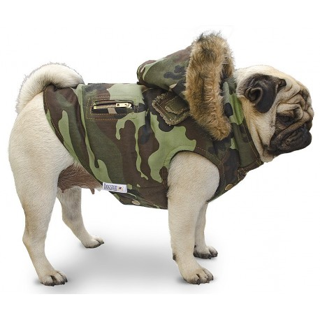 Jungle soldier dogston for Chalecos para perros
