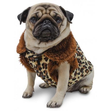 Animal print ropa para perros pug indumentaria canina Dogston