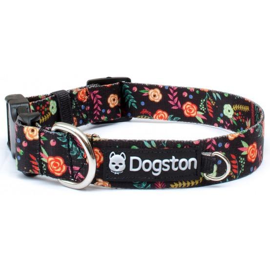 Collar para perros con flores