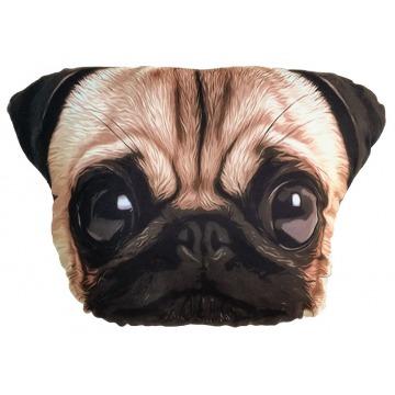 Almohadón perro raza Pug