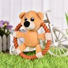 Peluches Animales en Aros chancho pato oso para perros