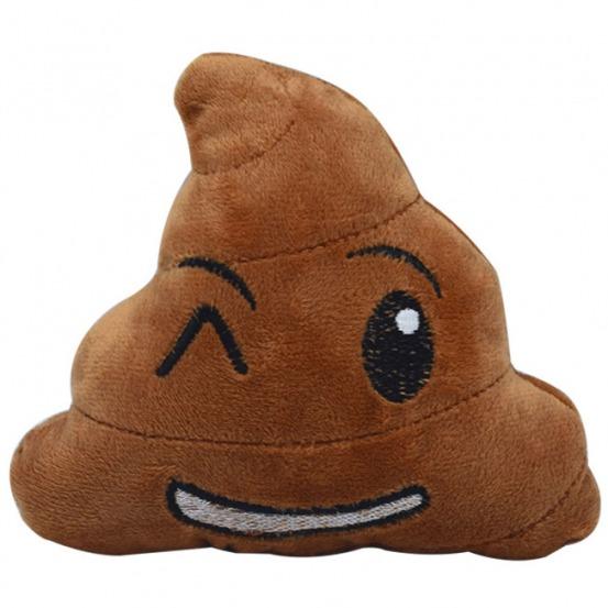 Peluche Poo whatsapp emoji juguete perros